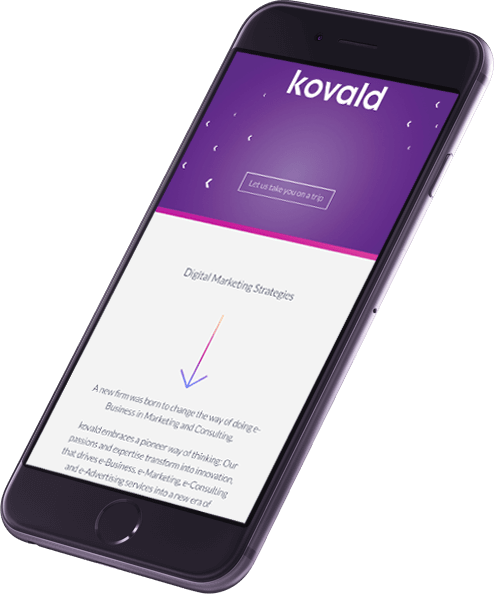 kovald digital marketing phone